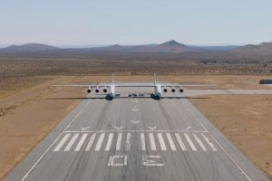 Самый большой самолет в мире поставил рекорд скорости