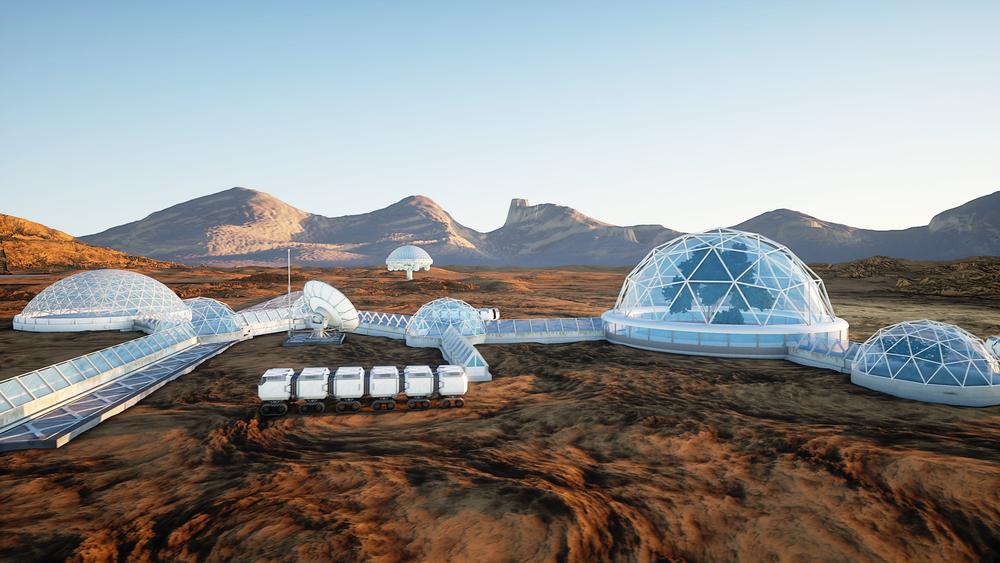 Астронавты проведут месяц в пустыне Омана ради полета на Марс.Вокруг Света. Украина