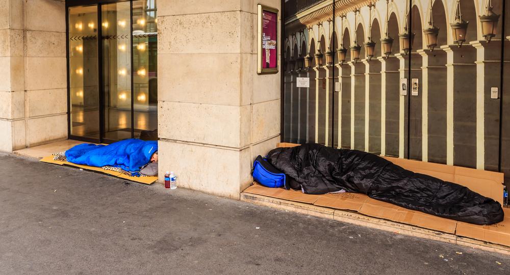 В Париже впервые провели перепись клошаров