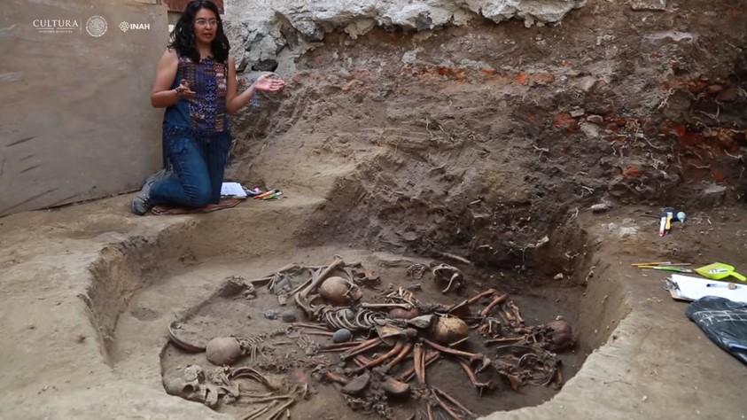 Мексиканские археологи нашли странное захоронение возрастом 2,5 тысячи лет