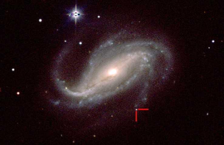 Слесарь первым в истории сфотографировал взрыв сверхновой