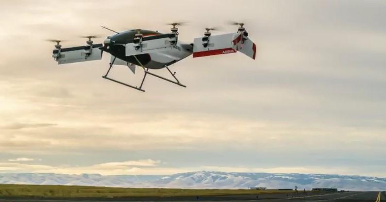 В США испытали летающее такси Airbus
