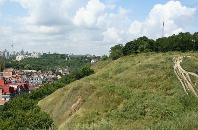 Замковая гора в Киеве получила статус парка