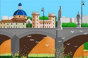 Пожилая испанка путешествует с помощью графического редактора