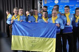 Сборная Украины отправилась на Паралимпиаду-2018