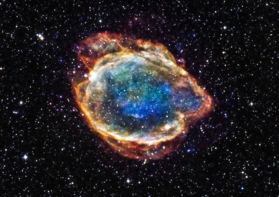 Астрономы сфотографировали