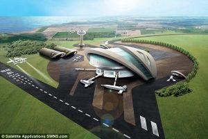 Великобритания построит первый европейский космопорт