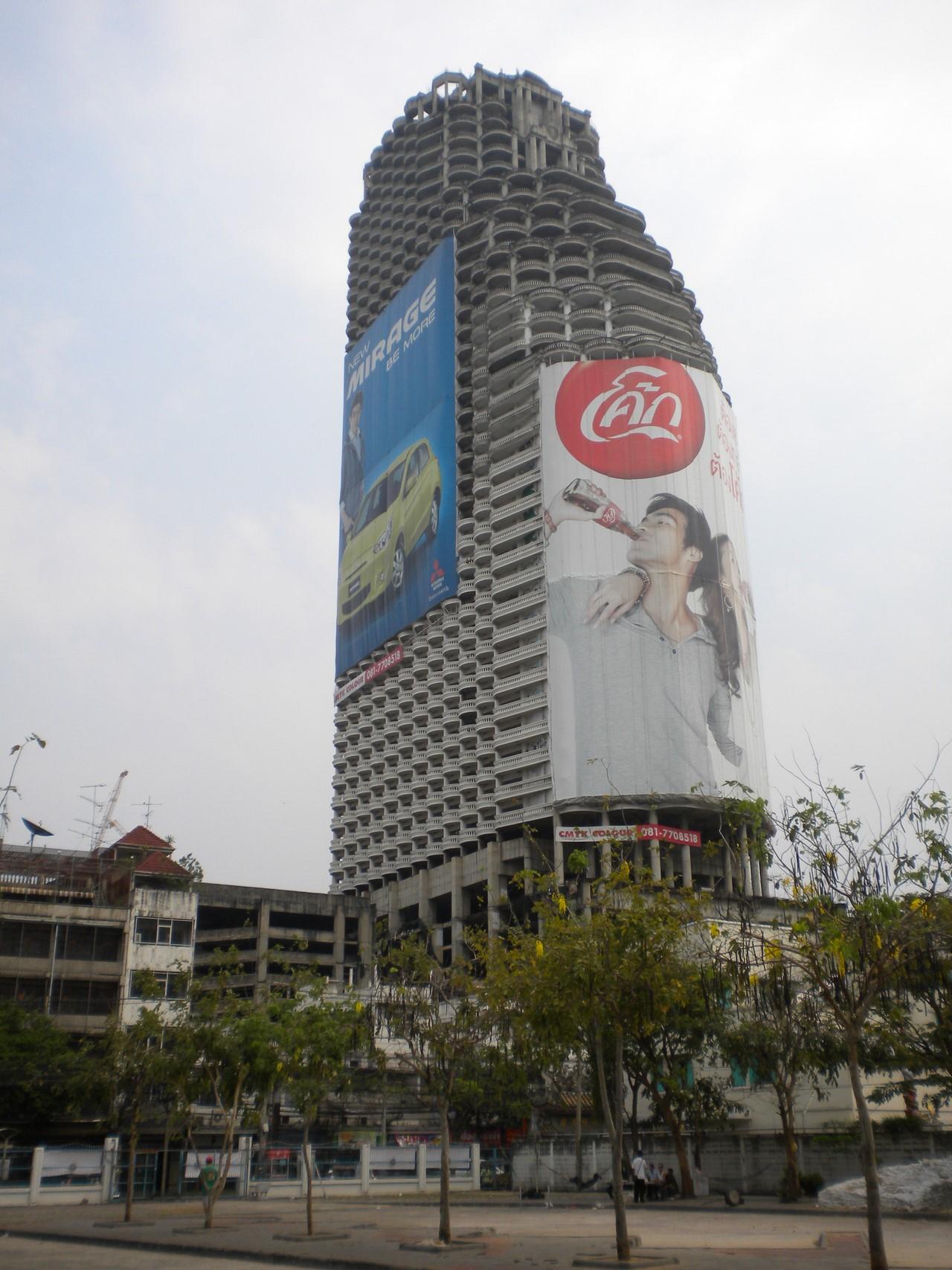 Как выглядит самый большой заброшенный небоскреб в мире Как выглядит самый большой заброшенный небоскреб в мире 4 3