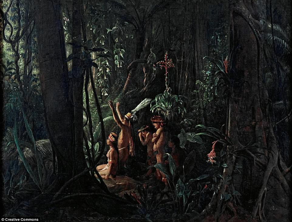 На месте дождевых лесов Амазонки были укрепленные города