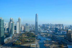Первый высокотехнологичный город в Южной Корее превращается призрак