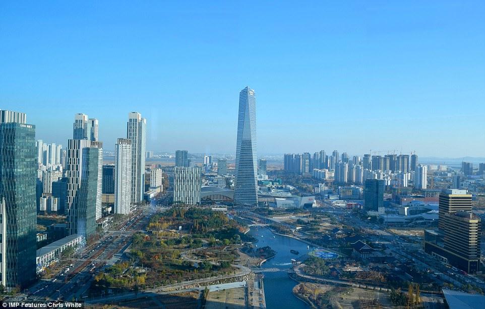 Первый высокотехнологичный город в Южной Корее превращается призрак.Вокруг Света. Украина