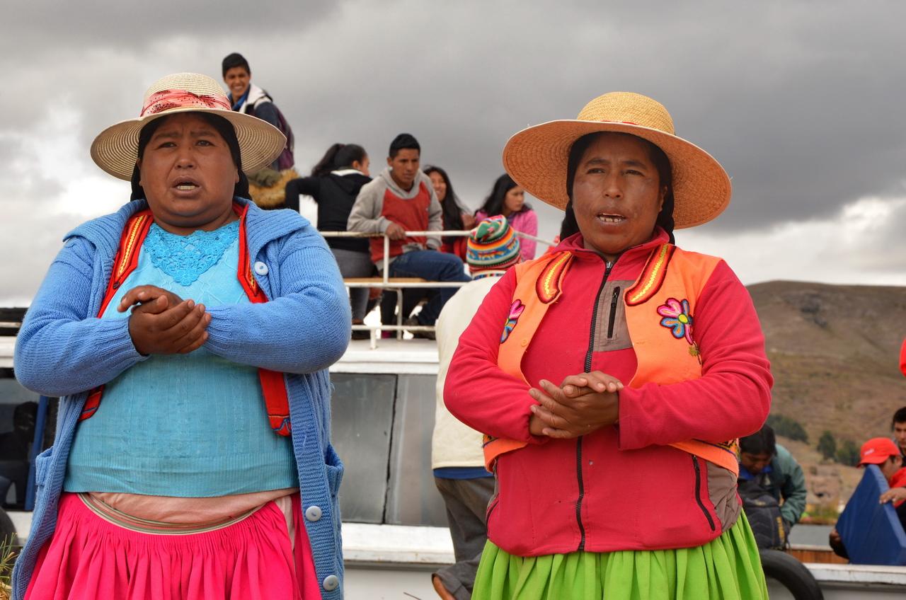 Титикака: родина инков и туристический аттракцион.Вокруг Света. Украина