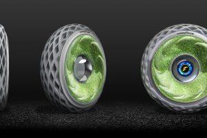 Новые шины Goodyear вырабатывают электричество и очищают воздух