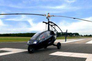 Прощайте, пробки: в Женеве представили летающий автомобиль