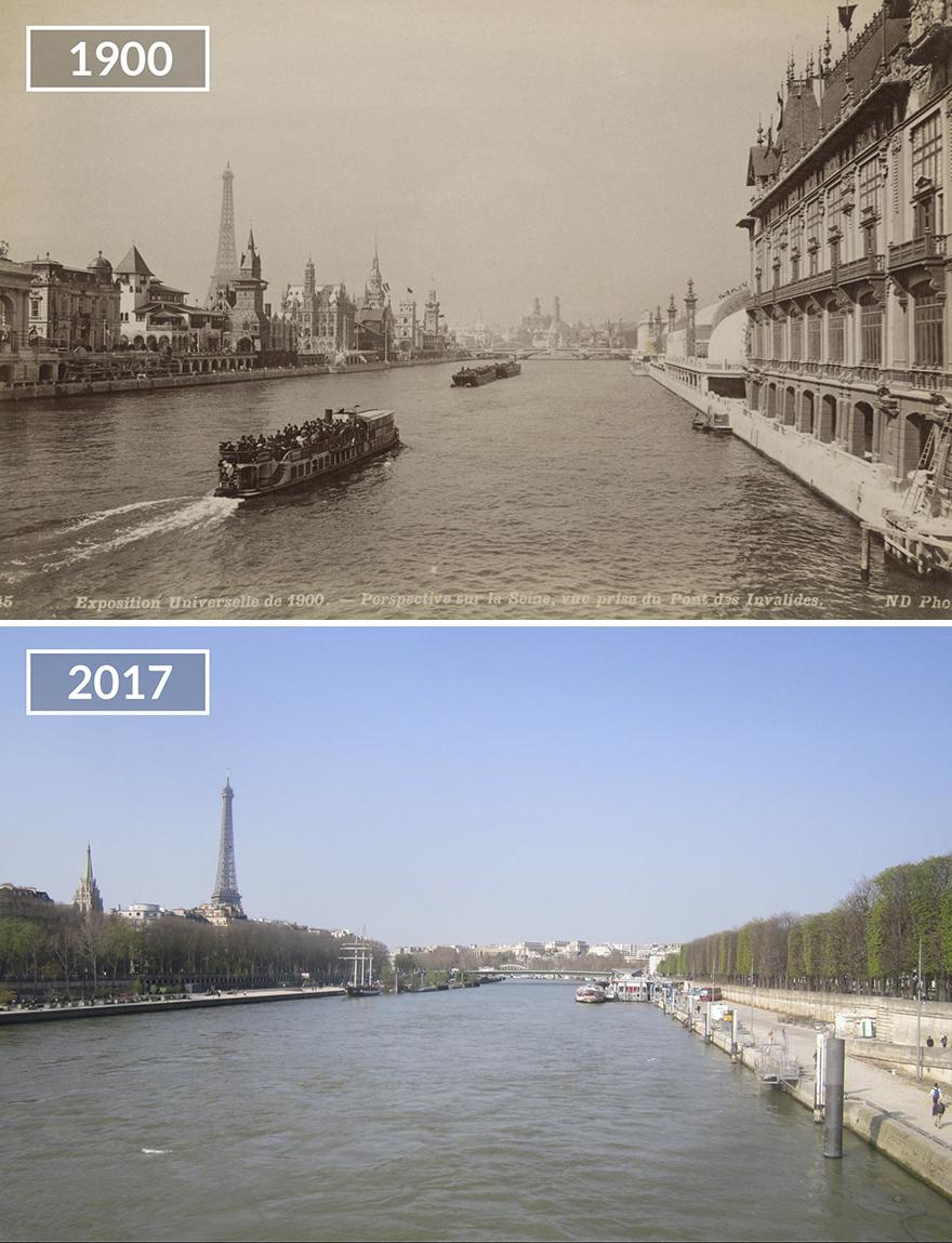 Париж 100 лет назад и сейчас: фото до и после Париж 100 лет назад и сейчас: фото до и после Paris6