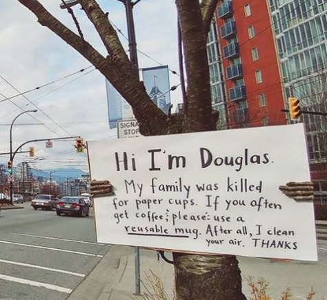 «Привет, я Дуглас, мою семью убили ради бумажных стаканчиков» «Привет, я Дуглас, мою семью убили ради бумажных стаканчиков» Screenshot 1 4