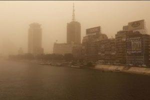 Египет парализовало из-за песчаных бурь
