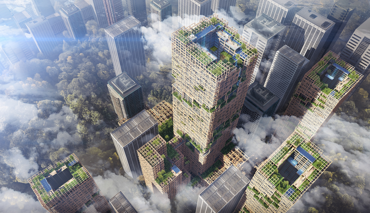 В Японии построят самый высокий в мире деревянный небоскреб