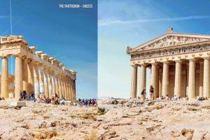 Знаменитые античные руины восстановили, но пока виртуально