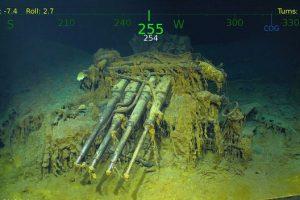 В Тихом океане нашли авианосец времен Второй мировой войны