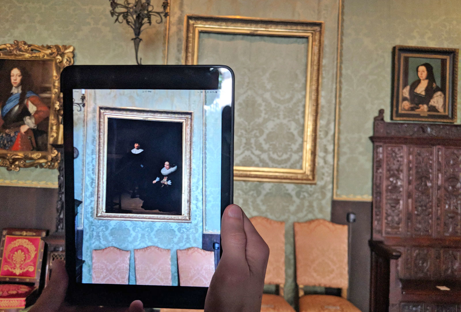 Американский музей вернул украденного Рембрандта в дополненной реальности