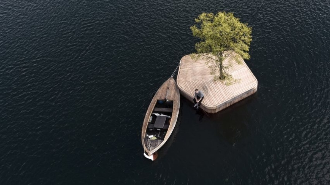 В Копенгагене появился странный остров.Вокруг Света. Украина