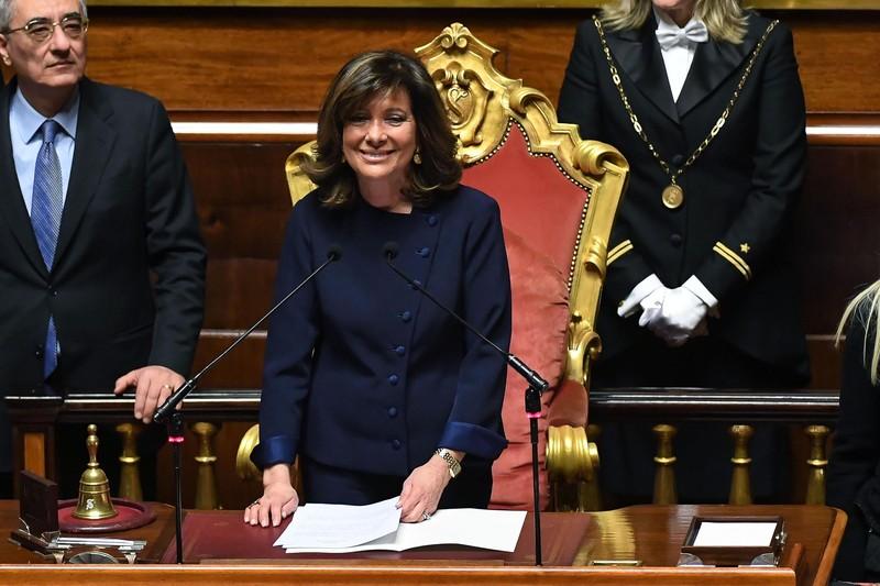 Итальянский Сенат впервые возглавила женщина.Вокруг Света. Украина