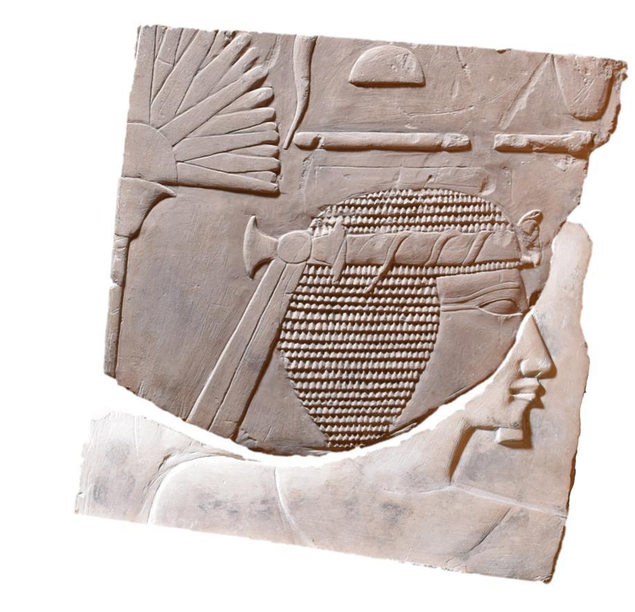 Археологи обнаружили редчайший портрет женщины-фараона Археологи обнаружили редчайший портрет женщины-фараона realigned picture colour