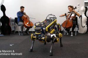 Швейцарские ученые научили робота танцевать