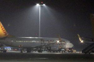 В аэропорту Одессы пассажиры 10 часов просидели в самолете