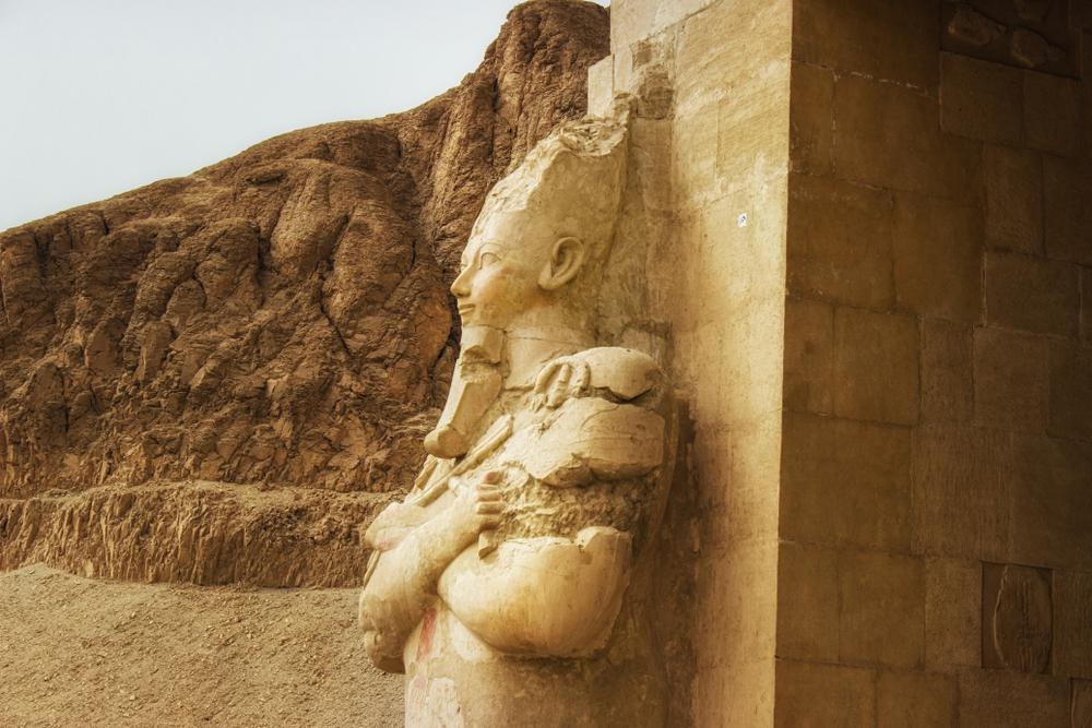 Археологи обнаружили редчайший портрет женщины-фараона