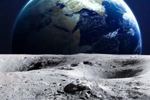 Предложена новая гипотеза появления Луны