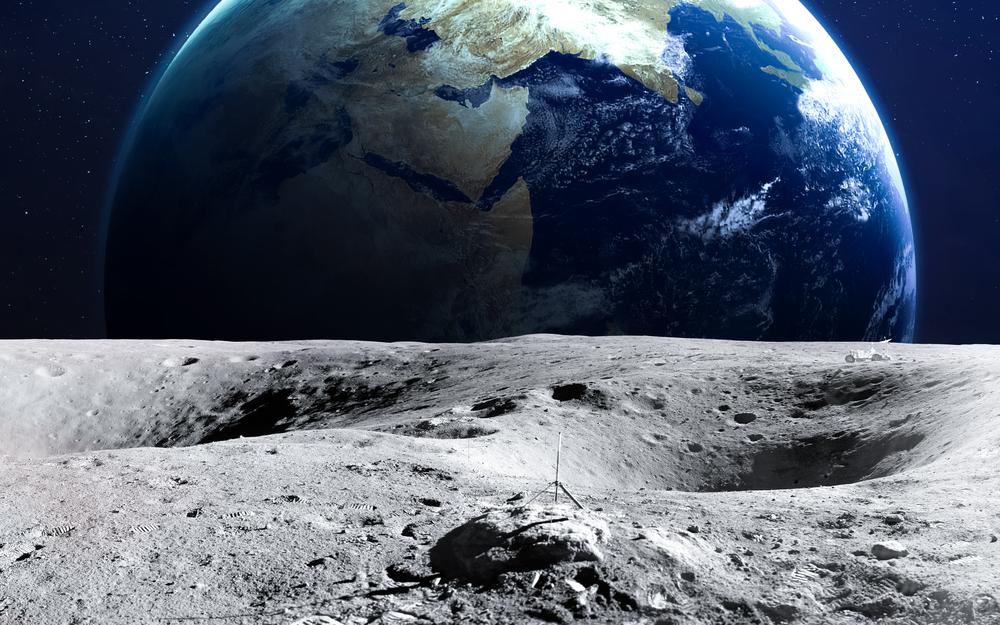 Предложена новая гипотеза появления Луны.Вокруг Света. Украина