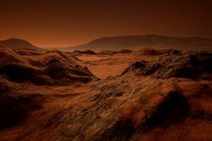 Мелкие моря на Марсе появились благодаря вулканам: ученые