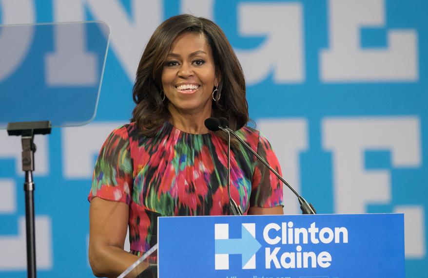 Мишель Обама: «Главное – позволить себе быть счастливой»