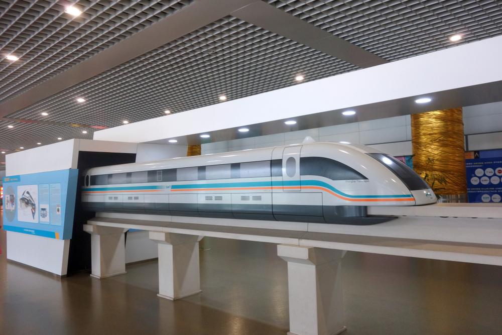 В Китае создали поезд, способный