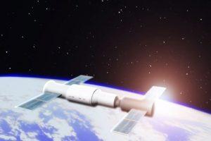 Падение орбитальной станции «Тяньгун-1» — видео
