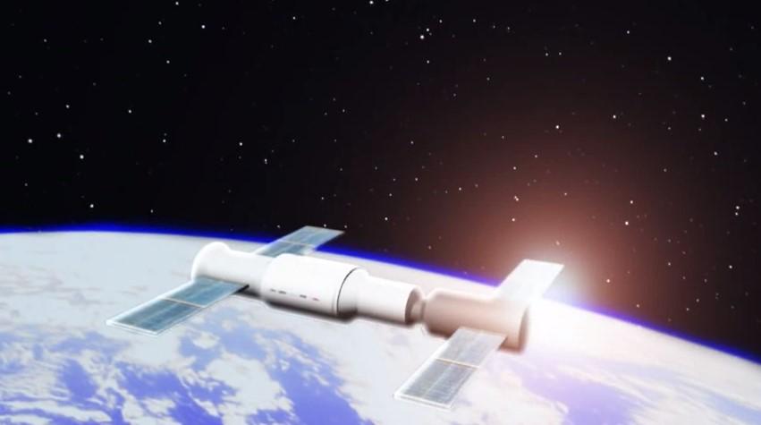 Падение орбитальной станции «Тяньгун-1» — видео.Вокруг Света. Украина