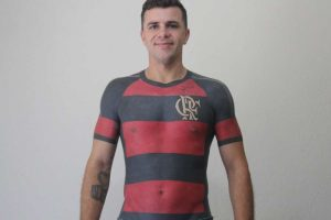 Бразилец сделал тату в виде футболки футбольной команды