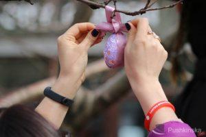 В Одессе появилось пасхальное дерево
