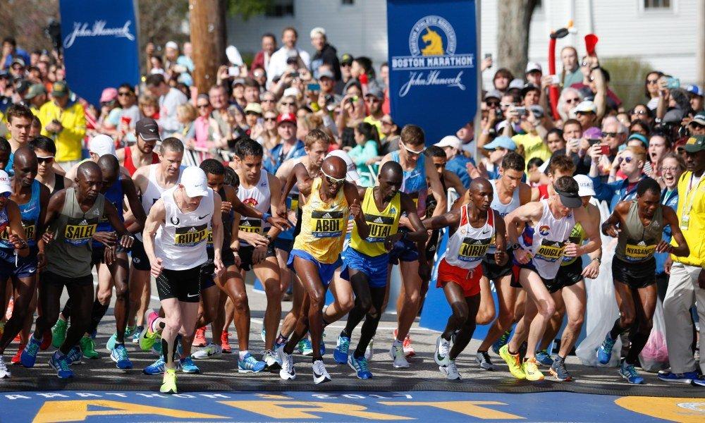 День Бостонского марафона в США