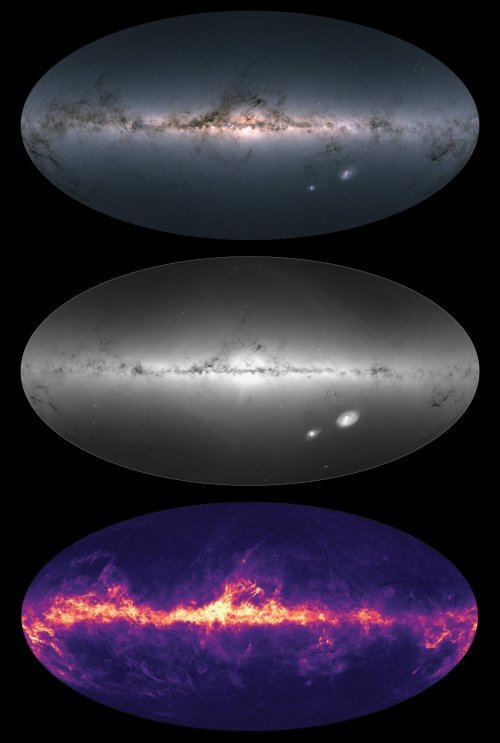 esa составила 3d карту Млечного пути (видео 360) ESA составила 3D карту Млечного пути 20180426 1 2