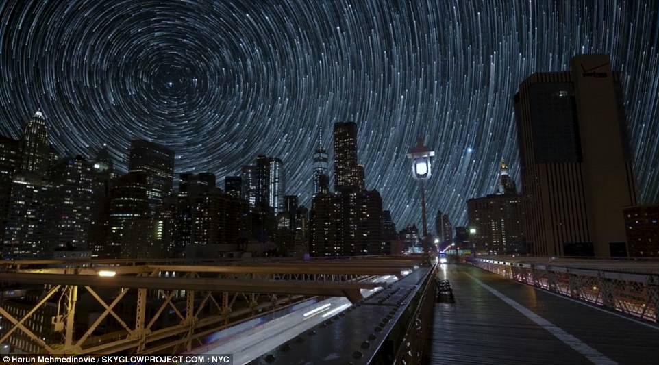 Млечный Путь над Нью-Йорком: В США пройдет Неделя темного ночного неба