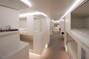 К 2020 году у Airbus появятся спальные места
