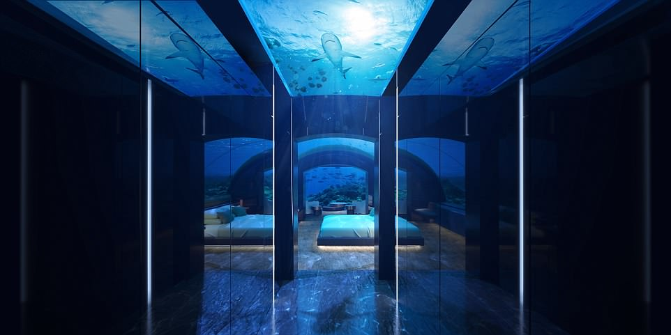 Первый отель на дне Индийского океана откроется на Мальдивах Первый отель на дне Индийского океана откроется на Мальдивах 4B46D43D00000578 5629361 image a 20 1524047172943