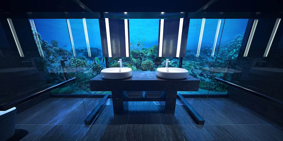 Первый отель на дне Индийского океана откроется на Мальдивах Первый отель на дне Индийского океана откроется на Мальдивах 4B46D5A100000578 5629361 image a 23 1524047180789