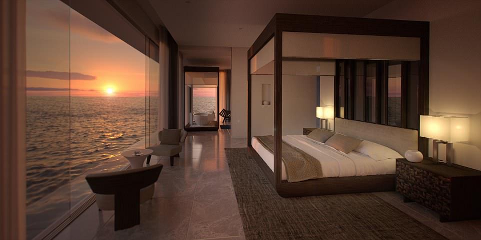 Первый отель на дне Индийского океана откроется на Мальдивах Первый отель на дне Индийского океана откроется на Мальдивах 4B46D5C900000578 5629361 image a 26 1524047196894