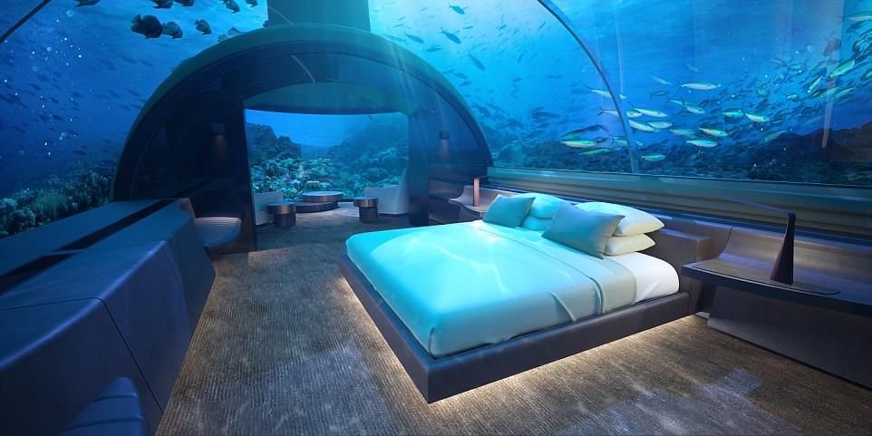 Первый отель на дне Индийского океана откроется на Мальдивах