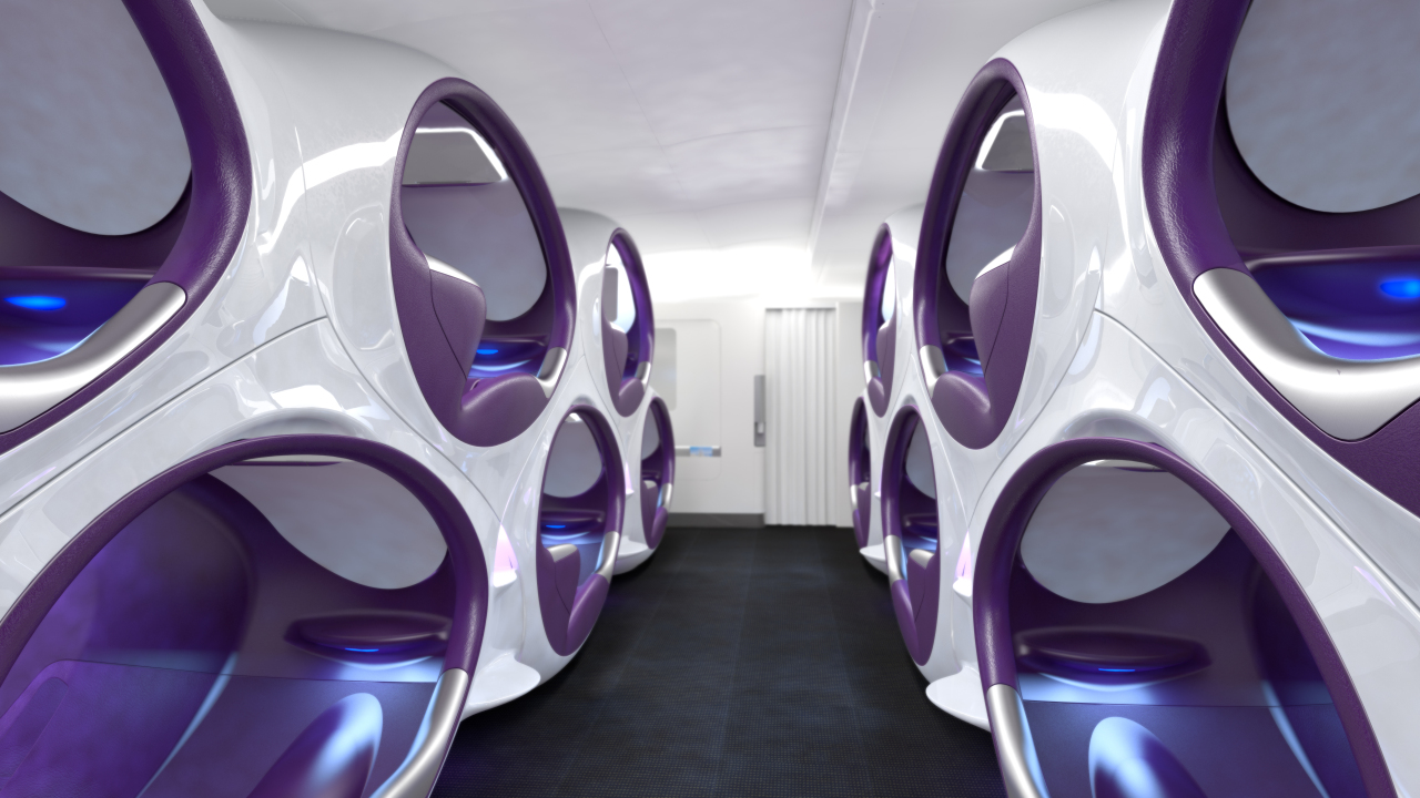 Двухъярусные кровати в самолете: бред или будущее? Двухъярусные кровати в самолете: бред или будущее? Air Lair