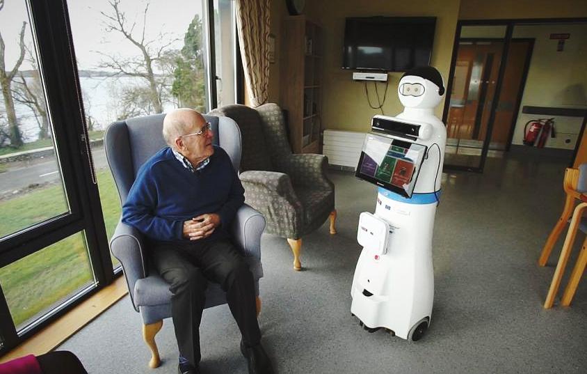 За больными деменцией будут ухаживать роботы